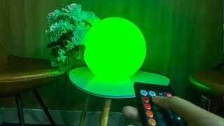 LOFTEK LED Glow Mood Lamp in 12-inch Ball Shape, Great for Home Decoration