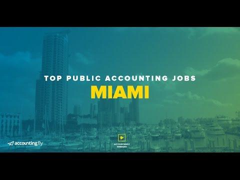 Top Public Accounting Jobs:  Miami