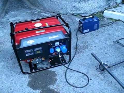 бензогенератор работает с перебоями