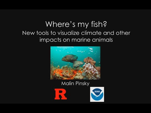 Where's My Fish New Tools to Visualize Climate and Other Impacts on Marine Animals