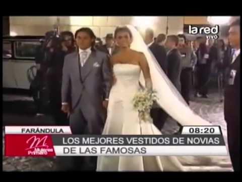 Los mejores vestidos de novias de las famosas