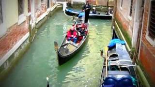Venecia(Venice): Paseo en Góndola con cantante a bordo. Italy