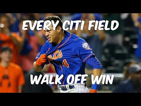 [Mets] Every Walk-Off Win at Citi Field (Since 2009)