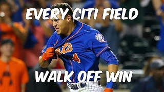 [Mets] Every Walk-Off Win at Citi Field (Since 2009) 2017 Video