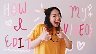 ✰ How I Edit My YouTube Videos (Handwritten Text & Doodles!) ✰