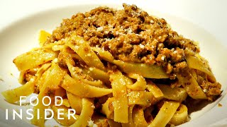 Emilio's Ballato Makes The Best Pasta Bolognese In NYC | Legendary Eats
