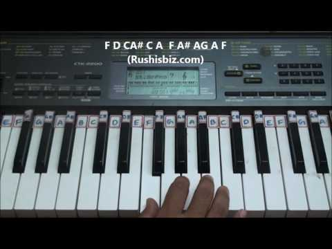 Jeans Movie (Beautiful BGM) - Piano Tutorials