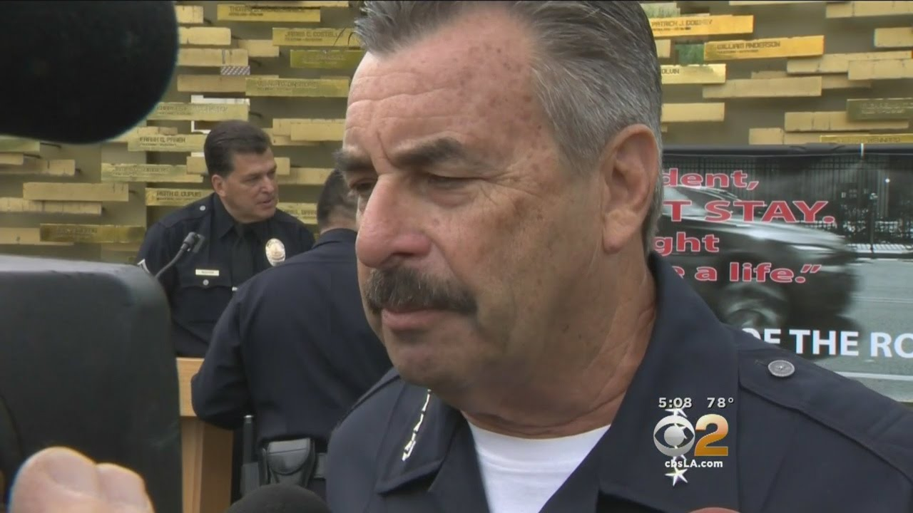 Download LAPD Chief Charlie Beck Responds To Investigation Into 'Stray Bullet' Shooting In Culver City