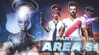 Area 51🛸 Part 2 [ एरिया 51] New Sci-fi Short action story in Hindi || Free Fire Story