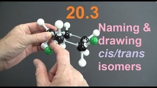 20.3 Naming and Drawing cis/trans Isomers (+ questions) [HL IB Chemistry]
