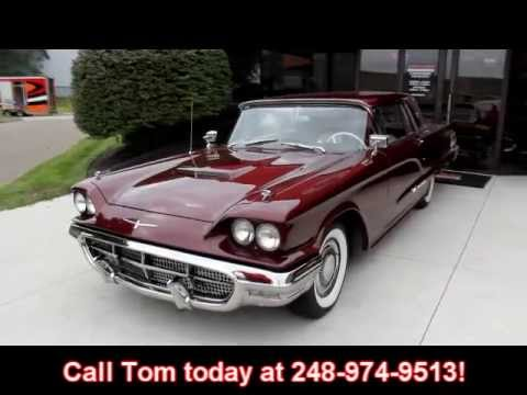 1960 Ford Thunderbird Hardtop Classic Muscle Car for Sale in MI Vanguard Motor Sales