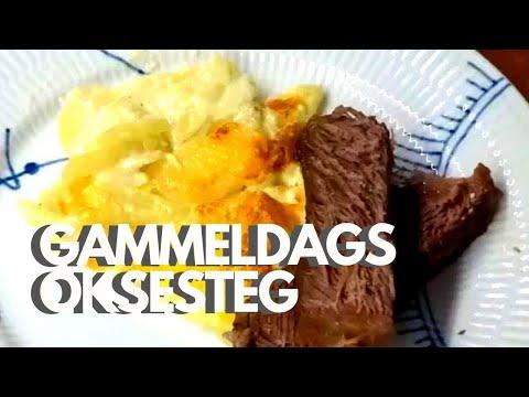 Gammeldags Oksesteg Braiseret Mørt Oksekød Opskrift 153 Youtube
