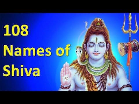 Names of Lord Shiva |  शिवजी के 108 नाम ।