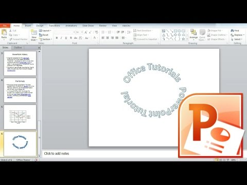 How to Curve Text in Powerpoint, How to make Circular Text in Powerpoint Presentation