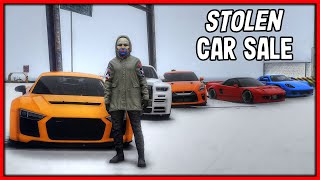GTA 5 Roleplay - SELLING STOLEN LUXURY CARS!! | RedlineRP #806
