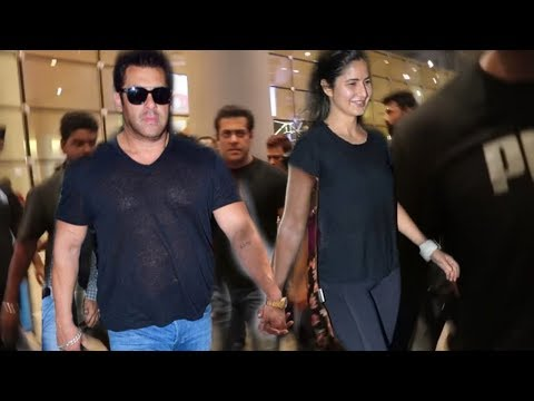 Salman Khan And Katrina Kaif Best Moment In Front Of Media | Sweet Moment With Together