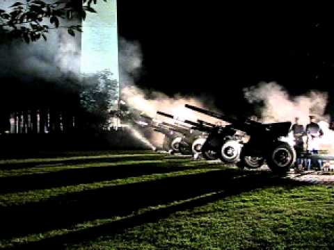 U.S. Army's Presidential Salute Battery Performs 1812 Overture (08/16/2011)