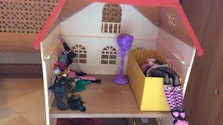 монстр хай 1 сезон Монстро общежитие 2 серия женщина кошка