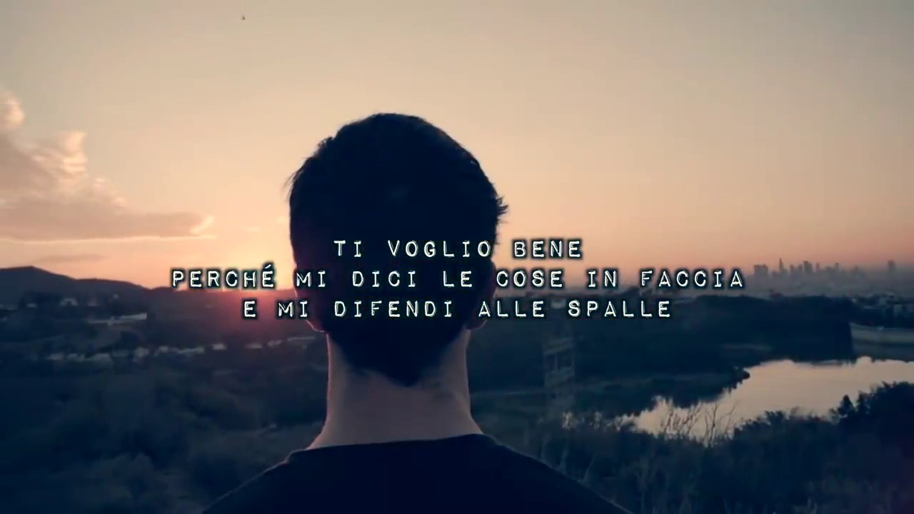 Francesco Sole Ti Voglio Bene Poesia Youtube