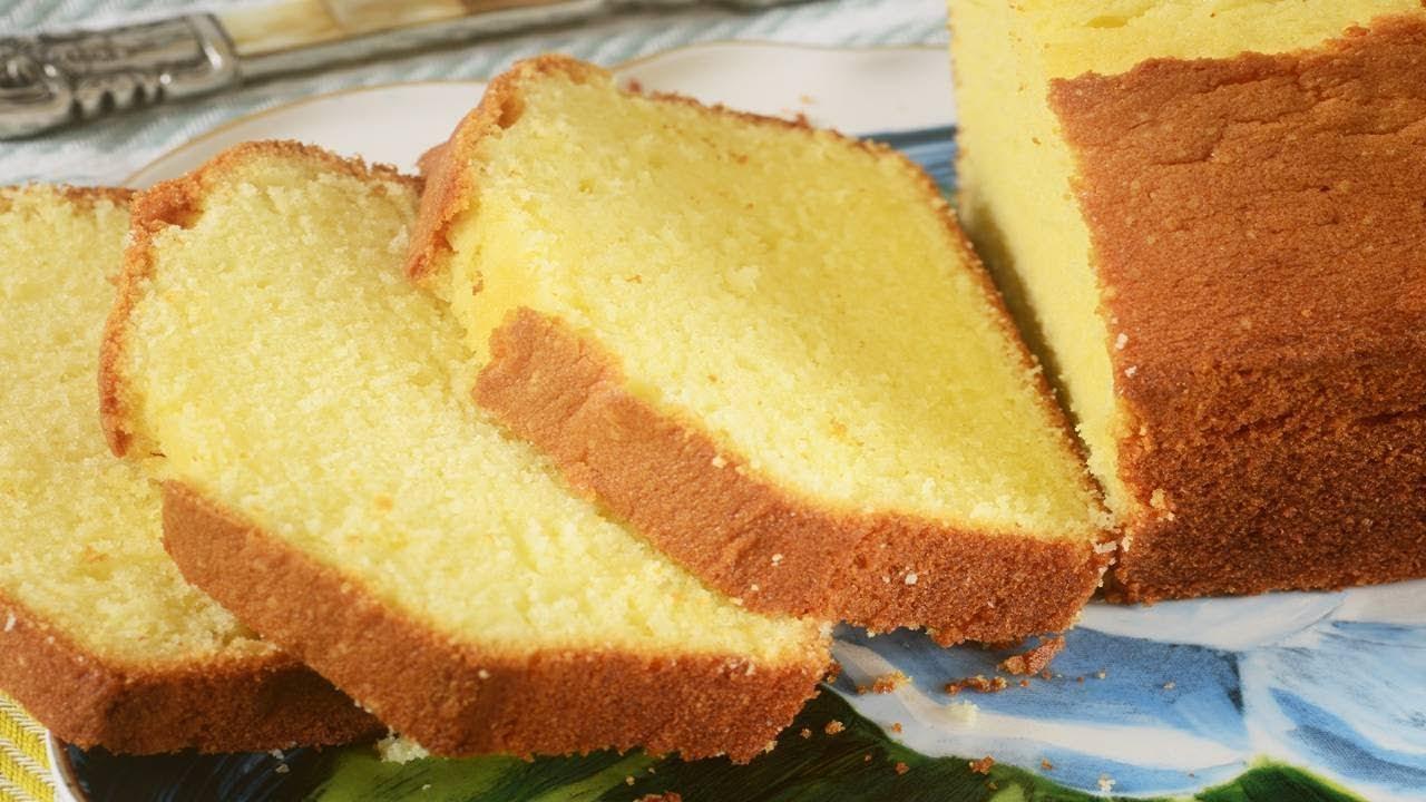 Pound Cake Recipe Demonstration Joyofbaking Com Youtube