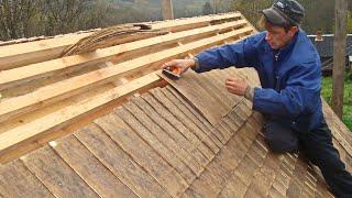 видео Гонтовая крыша