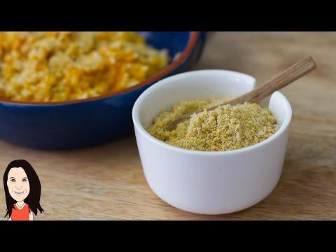 Nut Free Vegan Parmesan Cheese Recipe