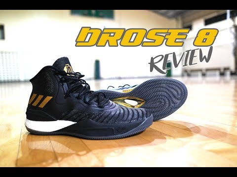 D ROSE 8 // PERFORMANCE REVIEW