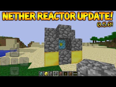 Майнкрафт 0.15.0 реактор