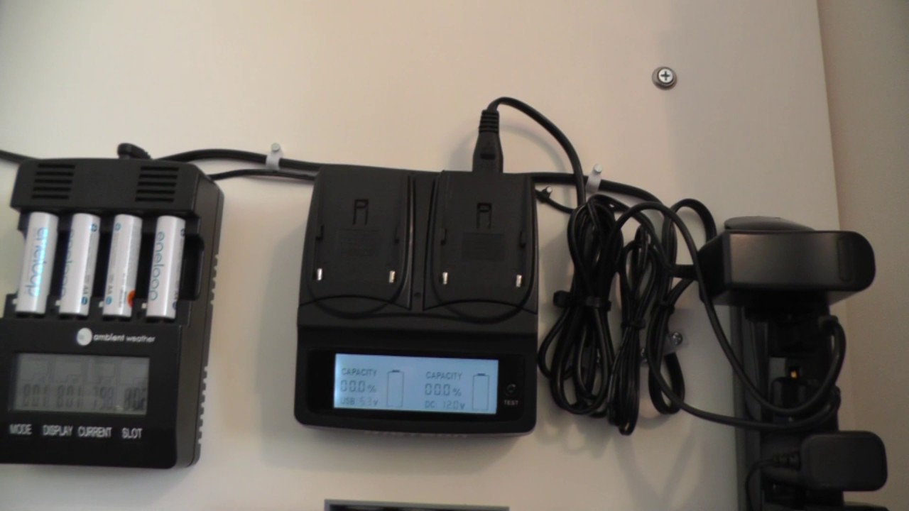 Wall Mount Battery Charging Station Youtube