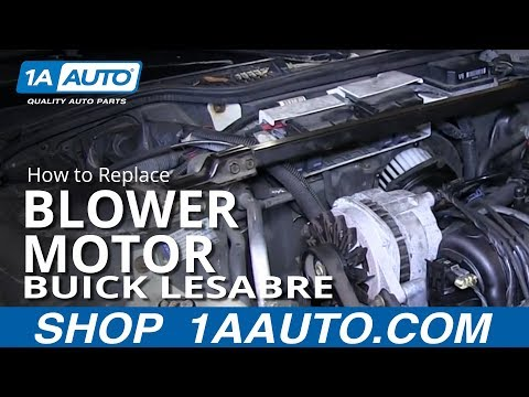 How To Replace Blower Motor 92-99 Buick LeSabre