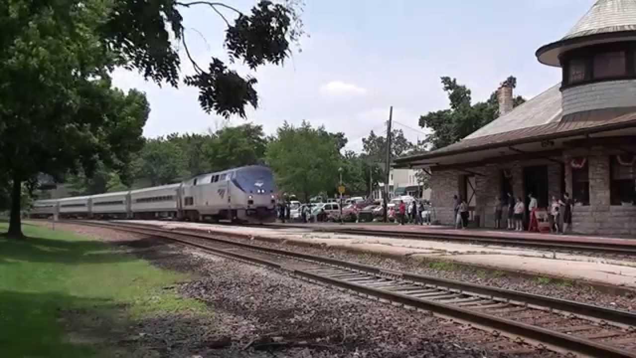 Amtrak train no 314 kirkwood mo youtube for Kirkwood login