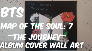 Baixar BTS Map Of The Soul:7 - The Journey - Album Cover Wall Art DIY