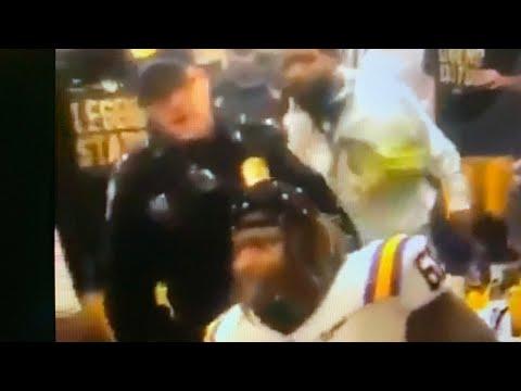 Odell Beckham,Jr New Orleans Police Issue Arrest Warrant For Butt Slap After LSU Win