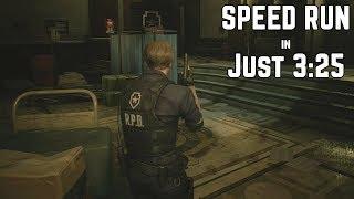 Resident Evil 2 Remake - 1-Shot Demo SPEEDRUN in Just 3:25