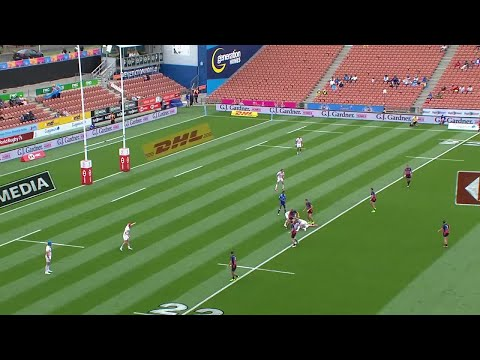 Norton goes supersonic at the New Zealand sevens