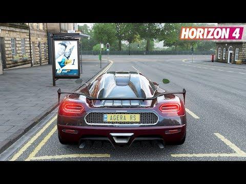Forza Horizon 4 – Koenigsegg Agera RS | Gameplay