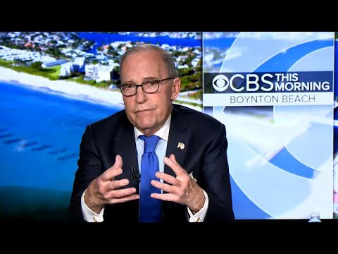 "Larry Kudlow on tax law impact, China ""trade dispute,"" Abe summit"