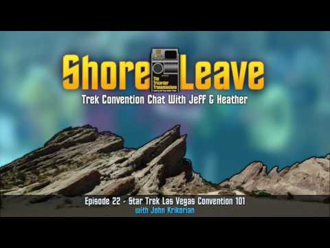The Tricorder Transmissions : Shore Leave #22 - STLV 101 Part 1