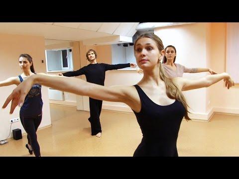 Уроки балета для начинающих [video-] - hd, в