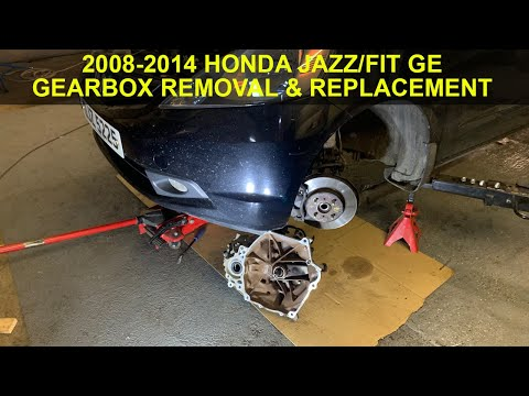 Honda Jazz/Fit GE, Gearbox & Clutch Replacement