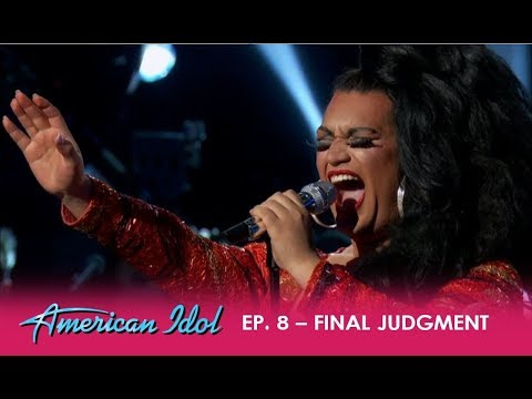Ada Vox: Drag Queen Gets Standing Ovation For EMOTIONAL Cover Of 'Creep' | American Idol 2018