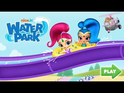 Shimmer And Shine Full Episode - Nick Jr Water Park Game