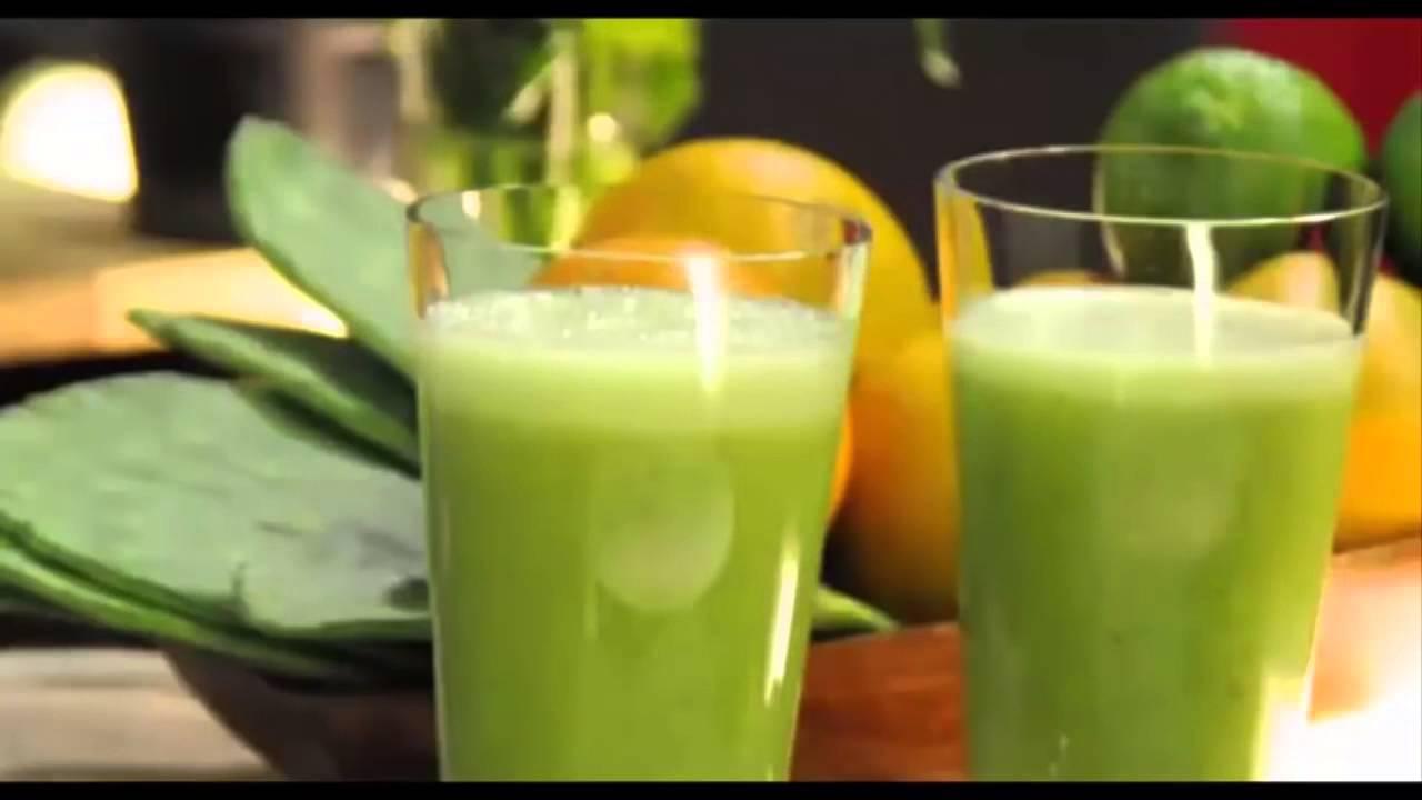 Jugo de Nopal, Limón y Sábila Para diabéticos e Hipertenso