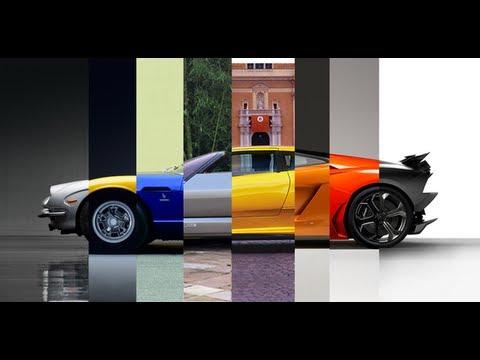 Evolution Of Lamborghini Youtube