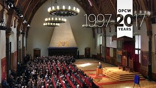 Commemorative Ceremony Marking the 20th Anniversary of the OPCW