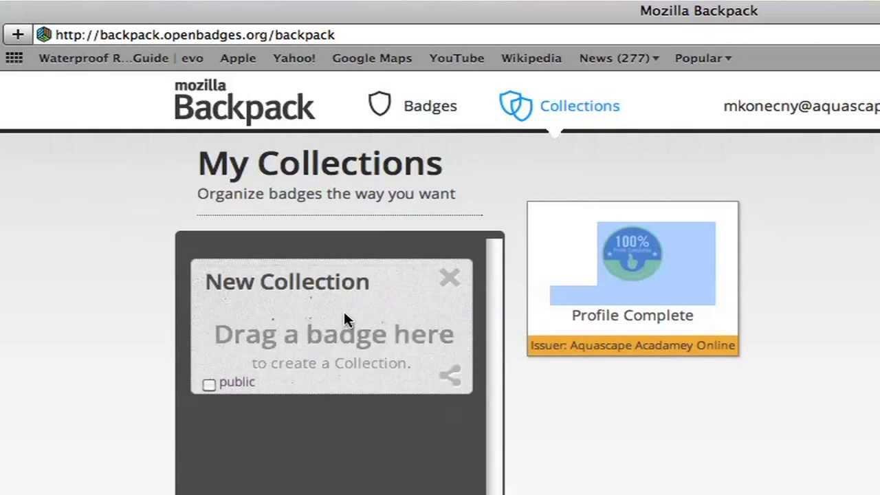 Aquascape Academy Online Linking Badges Youtube