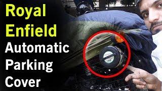 Bike Blazer Semi Automatic Bike Parking Cover for Royal Enfield & Bajaj Avenger