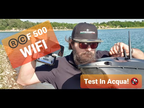FISHFINDER WIRELESS RCF500 WIFI VEXILAR APP! SUPERRR...