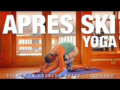 Apres Ski (post workout) Yoga Class - Five Parks Yoga (30 Min)