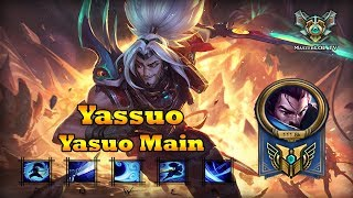 Yassuo - Best Yasuo KR/NA - Yasuo Montage (League of Legends)